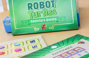 robot turtle AQ