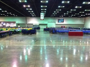 Exhibit Hall - Before the Storm