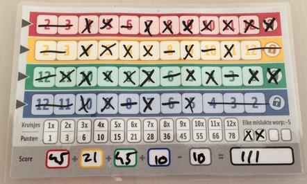 qwixx scorecard