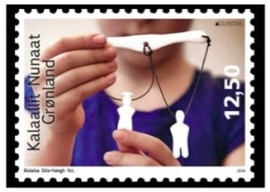greenland puzzle stamp