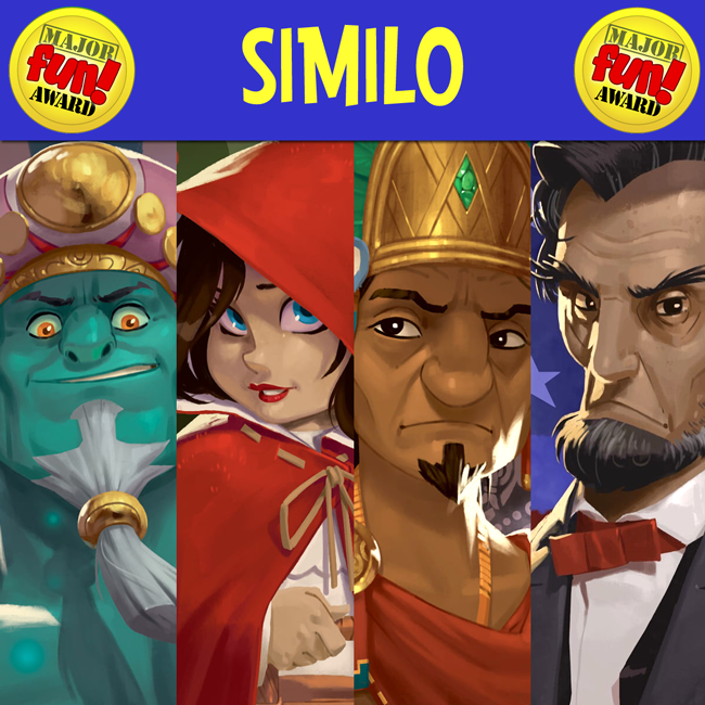 Similo Title Graphic - Major Fun Award